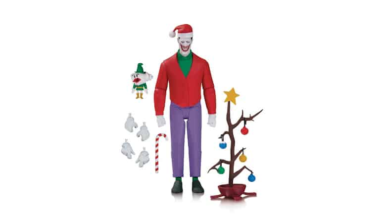 Batman: The Animated Series Joker Christmas Action Figure