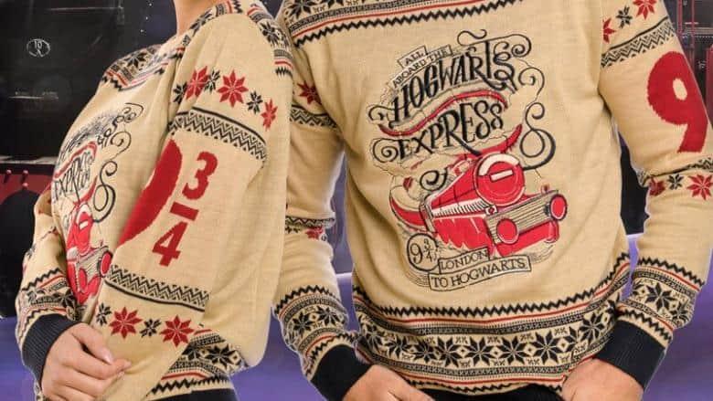Harry Potter Hogwarts Express Christmas Sweater