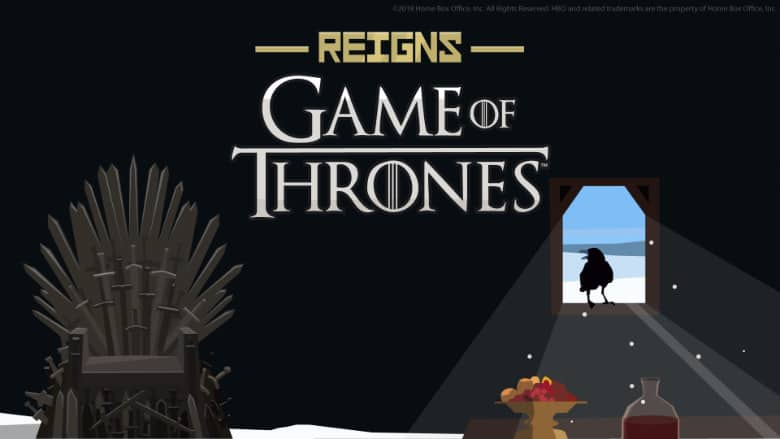 Reigns: Game of Thrones Release Date