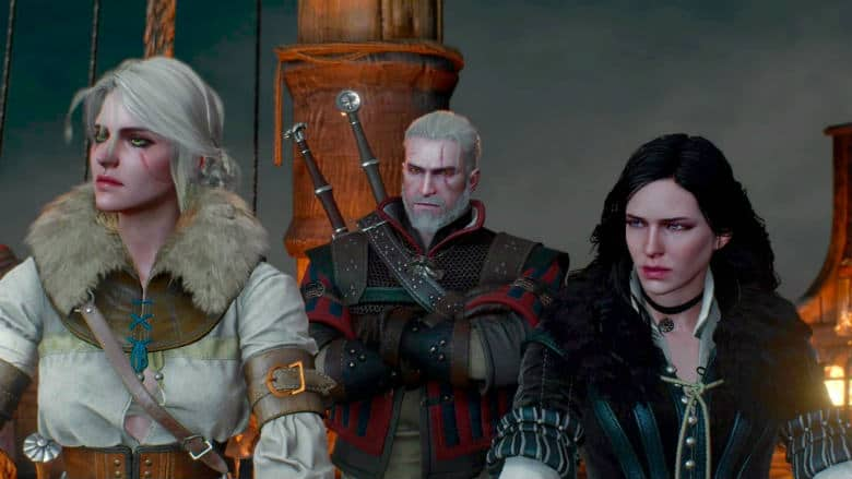The Witcher cast