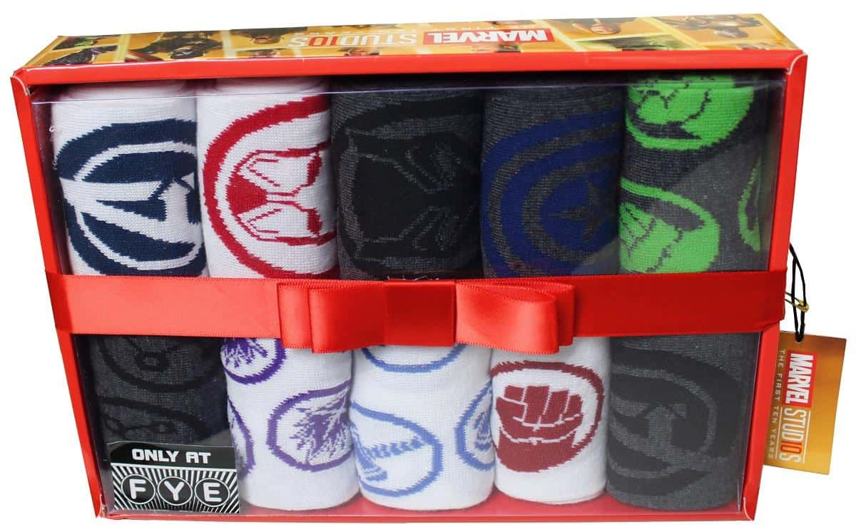 Marvel The First 10 Years Sock Box 3499