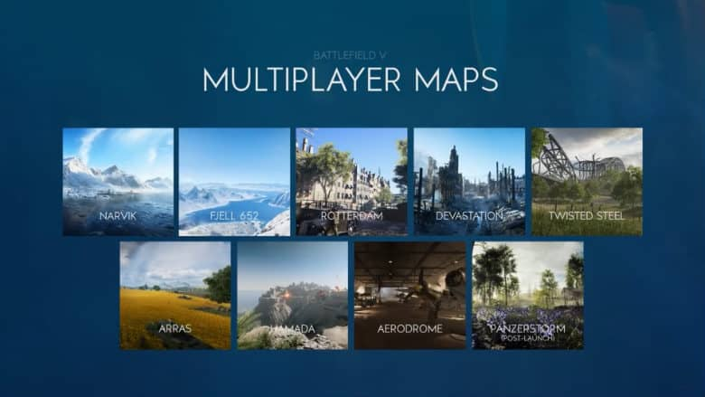 Battlefield 5 Maps Trailer Details our 8 Upcoming Warzones