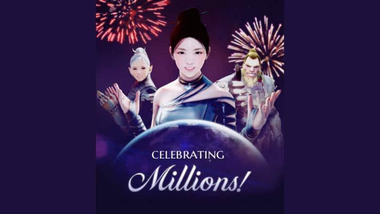 Black Desert Online Celebrating Millions Event