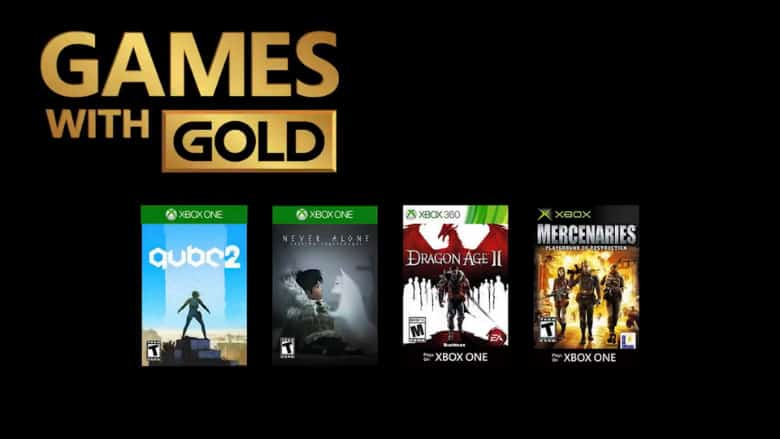 Games with Gold for December