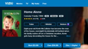 Rent or Purchase Home Alone on Vudu