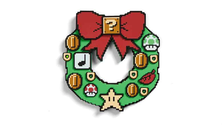 Nintendo Super Mario Light-Up Wreath