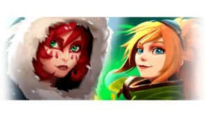 Battlerite Royale Yuletide Event - Poloma and Lucie