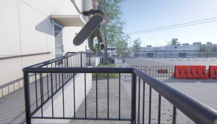 Skater XL bail