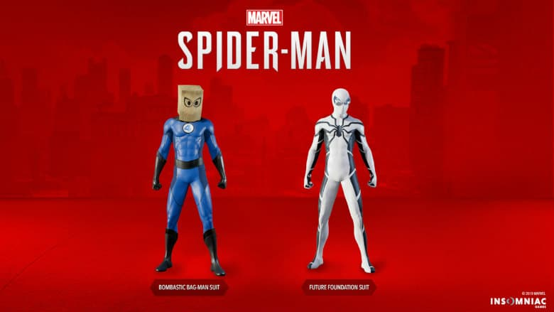 Spider-Man Fantastic Four Suits