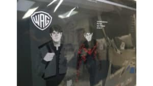 Batman Beyond animated movie concept art