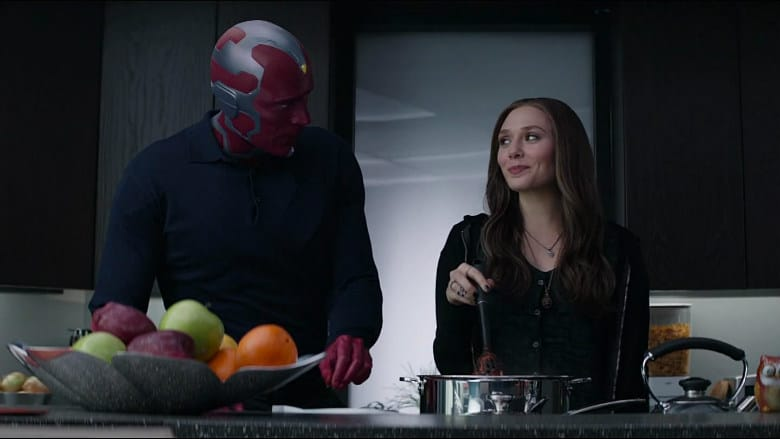 Vision and Scarlet Witch show