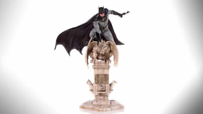 iron studios batman art scale