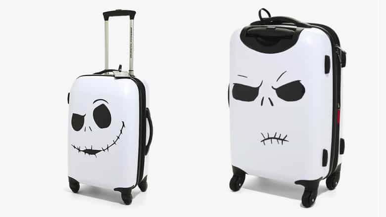 the nightmare before christmas luggage