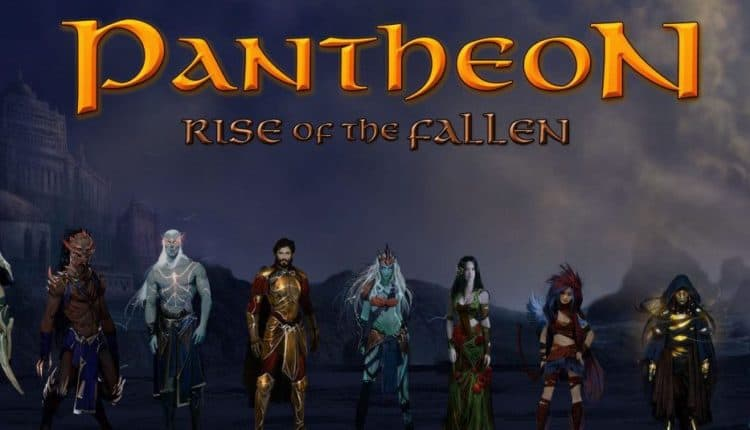 pantheon rise of the fallen mmo