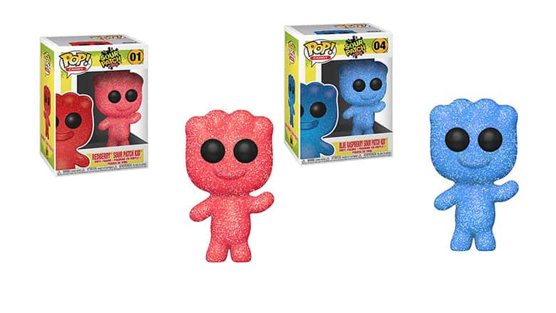 sour patch kids funkos