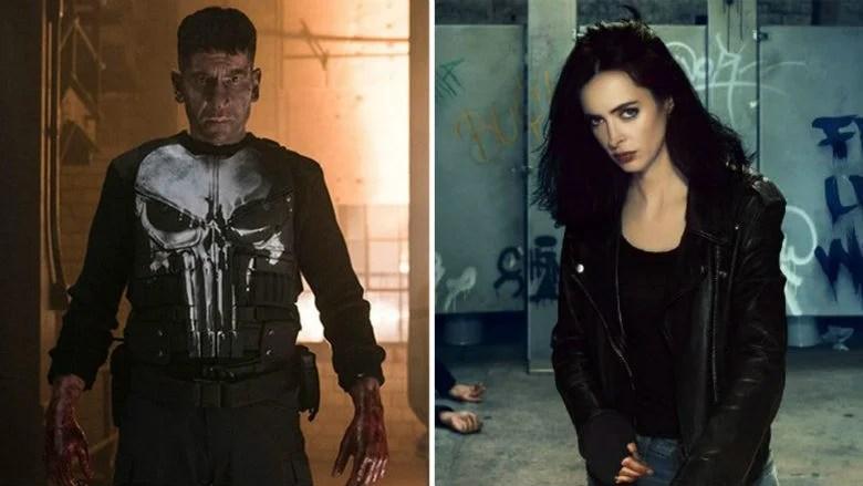 Jessica Jones and The Punisher