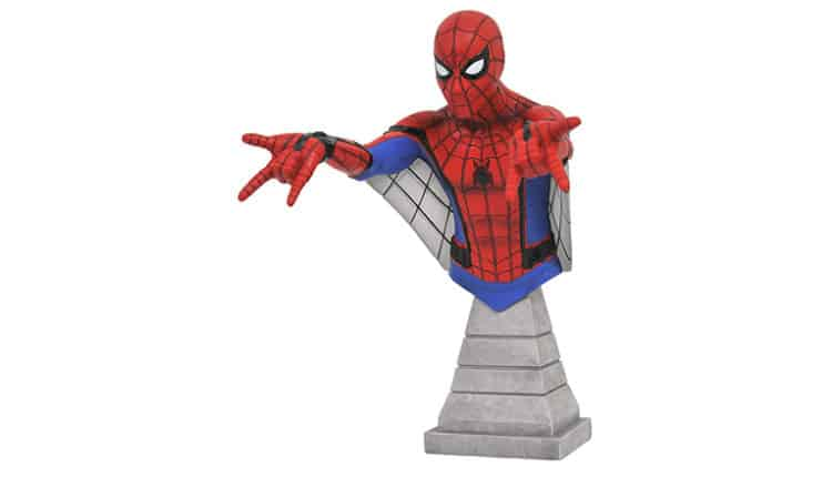 Diamond Select Toys Marvel Spider-Man Homecoming: Spider-Man Bust