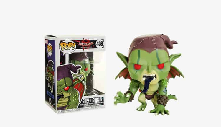 FunKo Spider-Man: Into the Spider-Verse Green Goblin Bobble-Head