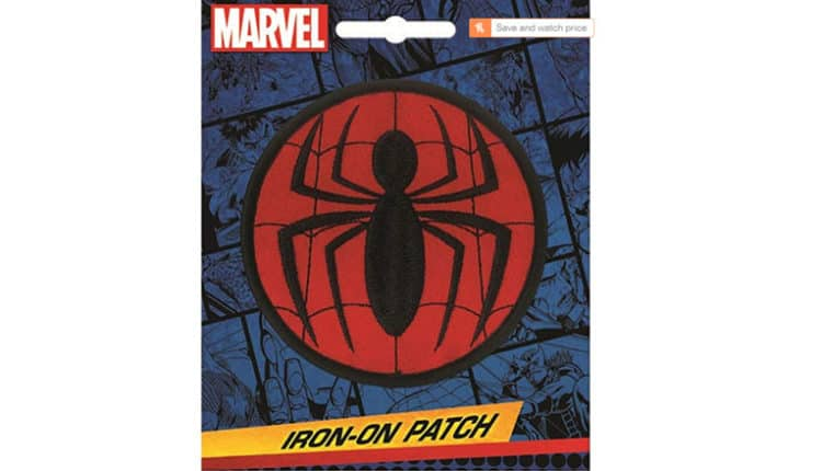 Ata-Boy Marvel Comics Spider-Man Logo 3″ Full Color Iron-On Patch