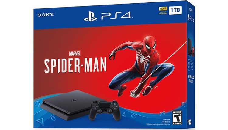 PlayStation 4 Slim 1TB Console – Marvel's Spider-Man Bundle