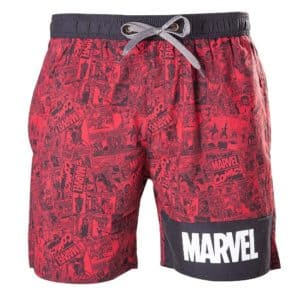 Marvel-ous Comic Strip Swim Shorts