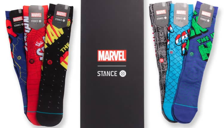 Stance Socks' Marvel Icons 6 Pack