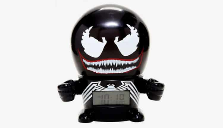 Venom Night Light Alarm Clock