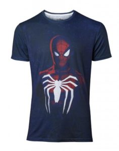 White Spider Acid Wash T-Shirt