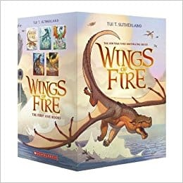 Wings of Fire Series by Tul T. Sutherland
