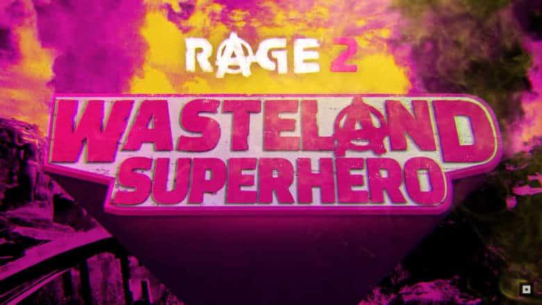 New Rage 2 Trailer