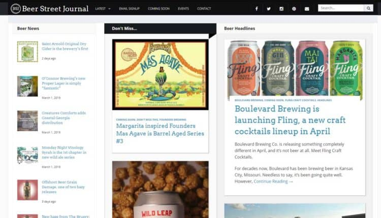 beerstreet journal