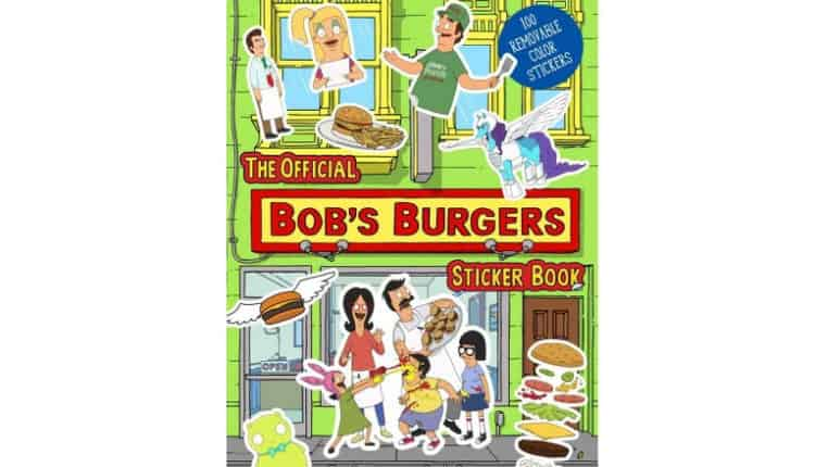 Bob's Burgers Sticker Book