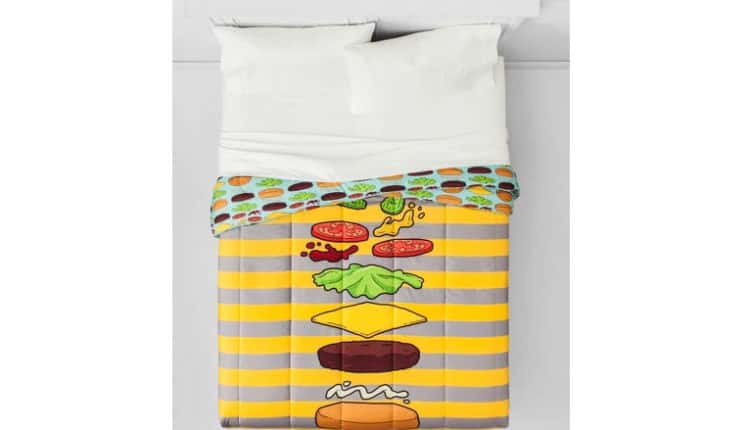 Burger Full/Queen Comforter
