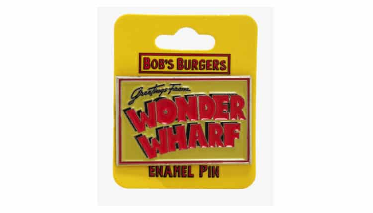 Wonder Wharf Enamel Pin