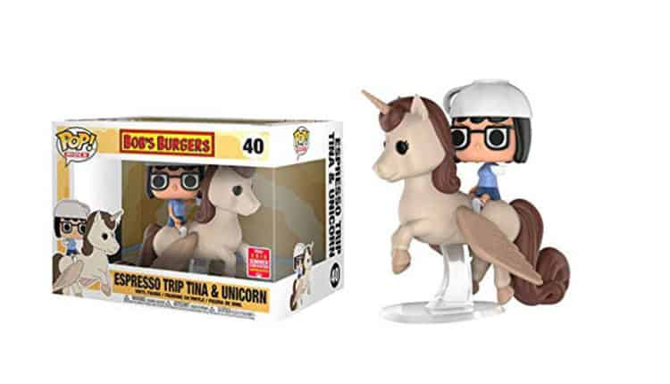Funko Tina and the Unicorn