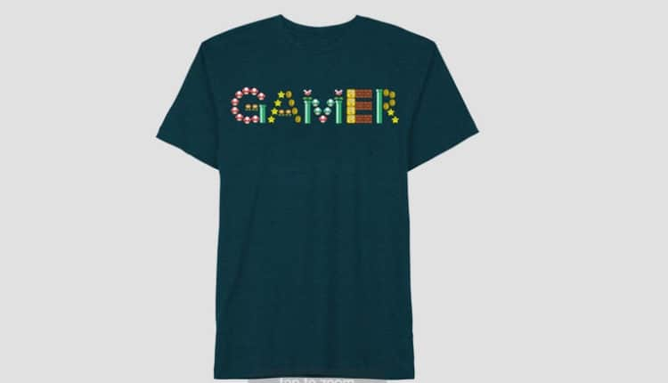 Super Mario Gamer T-Shirt