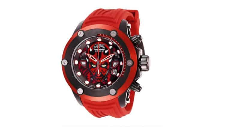 Invicta Limited Edition Darth Maul Watch