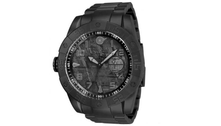 Invicta Limited Edition Black Death Star Watch