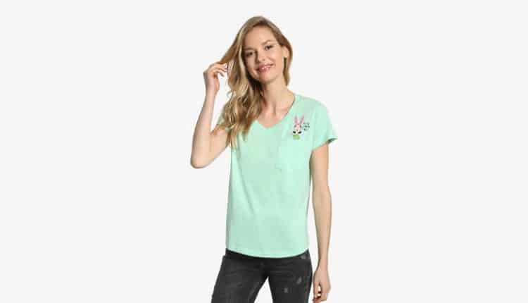 Louise Pocket Women's Tee