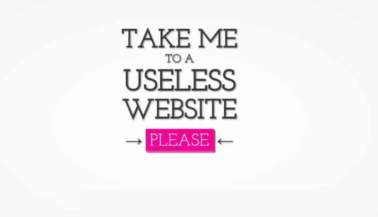 uselessweb