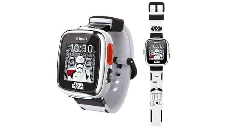 Best Star Wars Watch for Kids: VTech Star Wars First Order Stormtrooper Smartwatch with Camera