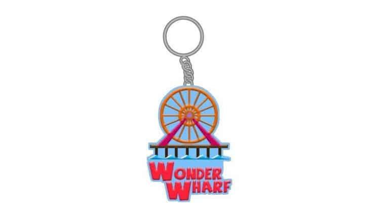 Wonder Wharf Keychain