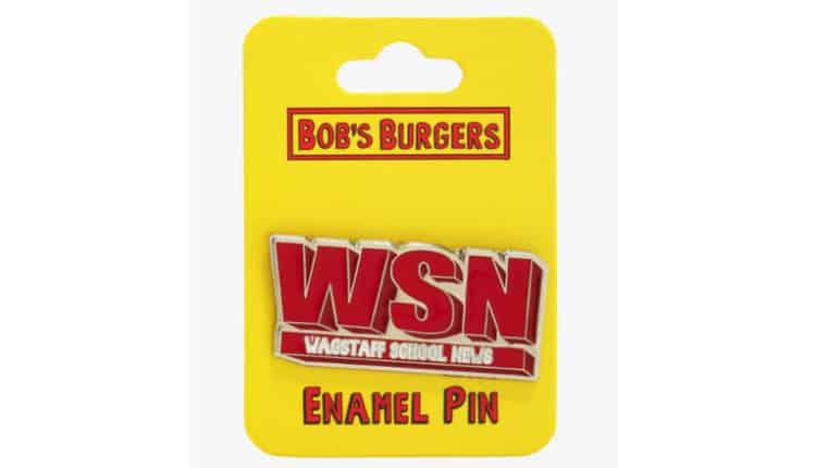 WSN Enamel Pin