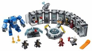 Lego Iron Man Hall of Armor Set