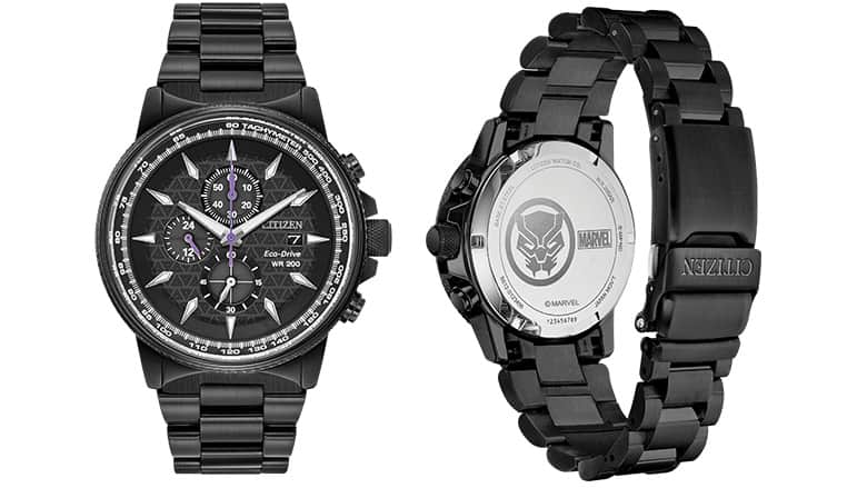 Citizen Black Panther Watch (V2)