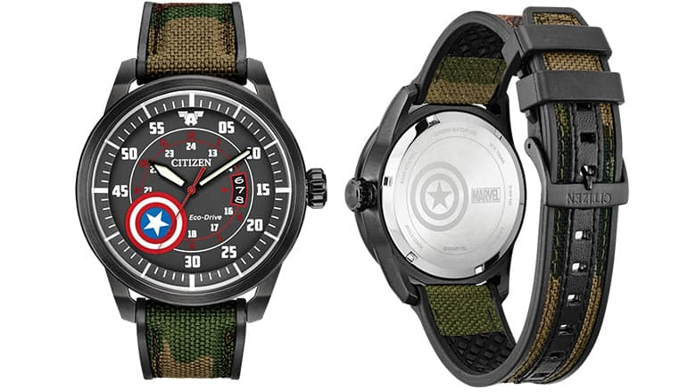 Citizen Captain America Watch
