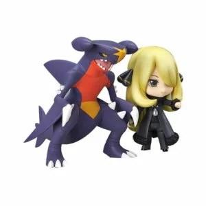 Nendoroid Pokemon Center Cynthia with Garchomp