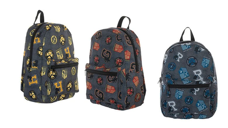 harry potter print backpacks