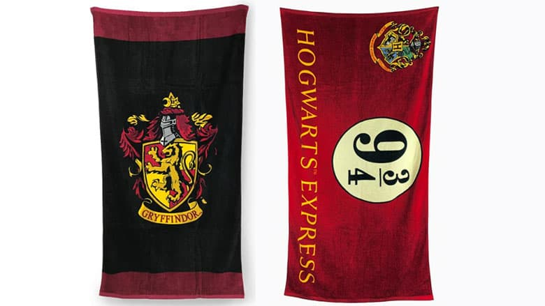 harry potter towels