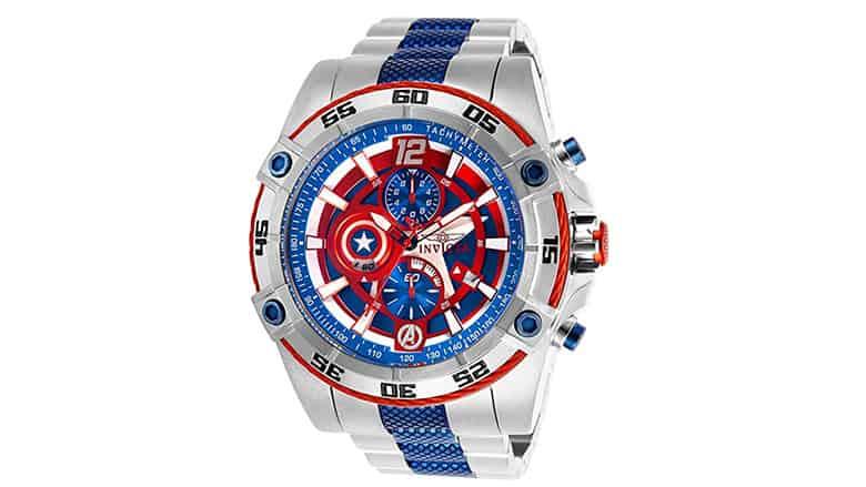 Invicta Captain America Watch